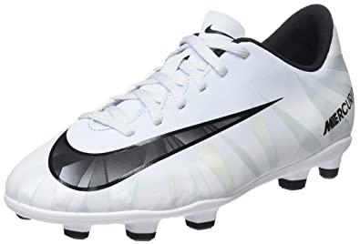 Nike Jr Kids Mercurial Vortex III CR7 FG (Blue Tint/White) (6Y