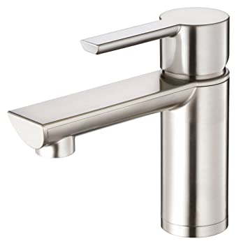 Danze DH220677BN Adonis Single Handle Lavatory Faucet, Brushed ...