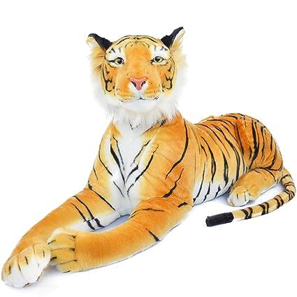 Amazon.com: Rohit la naranja tigre de Bengala | 4 foot largo ...