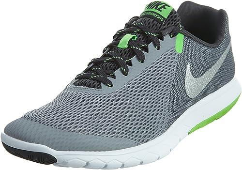 zapatillas nike flex running verdes