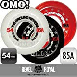 """OMG! """"THE GROUND RIPPERS"""" スケートボード スケボー 54mm 85A ソフトウィール クルージング《4個1セット》"""