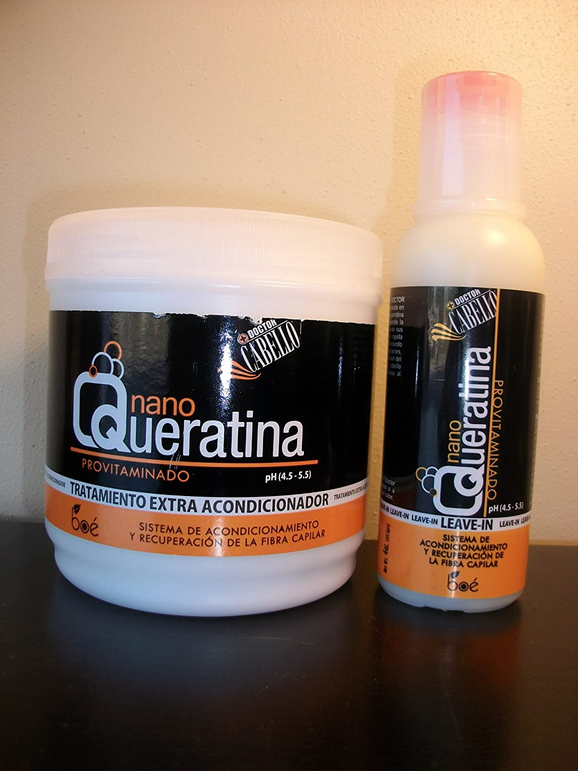 Amazon.com : Nano Queratina Hair Treatment & Leave in Conditioner Set : Shampoo And Conditioner Sets : Beauty