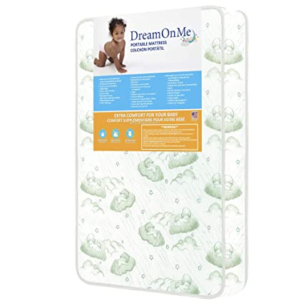 "Dream On Me 3/"" Foam Play Yard Mattress"