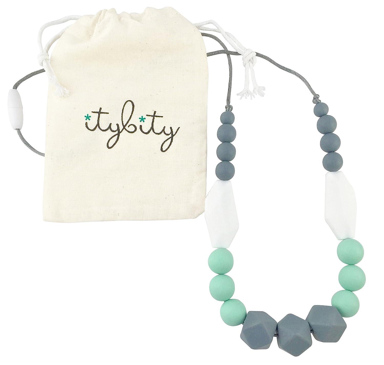 New Mum Gift Teething Necklace Breastfeeding Necklace Teething Jewellery Silicone Teething Necklace Nursing Necklace HALONA