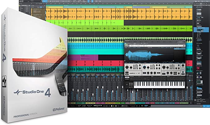 Amazon.com: PreSonus Studio One 4 Upgrade from Pro (All Versions) Boxed Multitrack Recording Software (S1 Prof 4.0: Musical Instruments