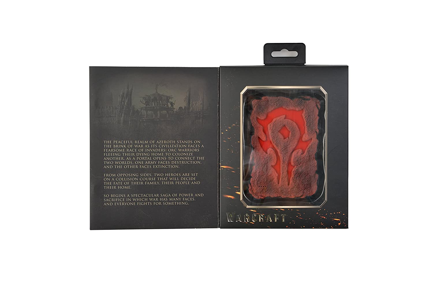 Swordfish Tech Warcraft Horde Symbol 6720mah External Power Bank
