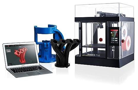 Amazon.com: Raise3D 101016001 Pro2 3D Printer, Extrusor dual ...