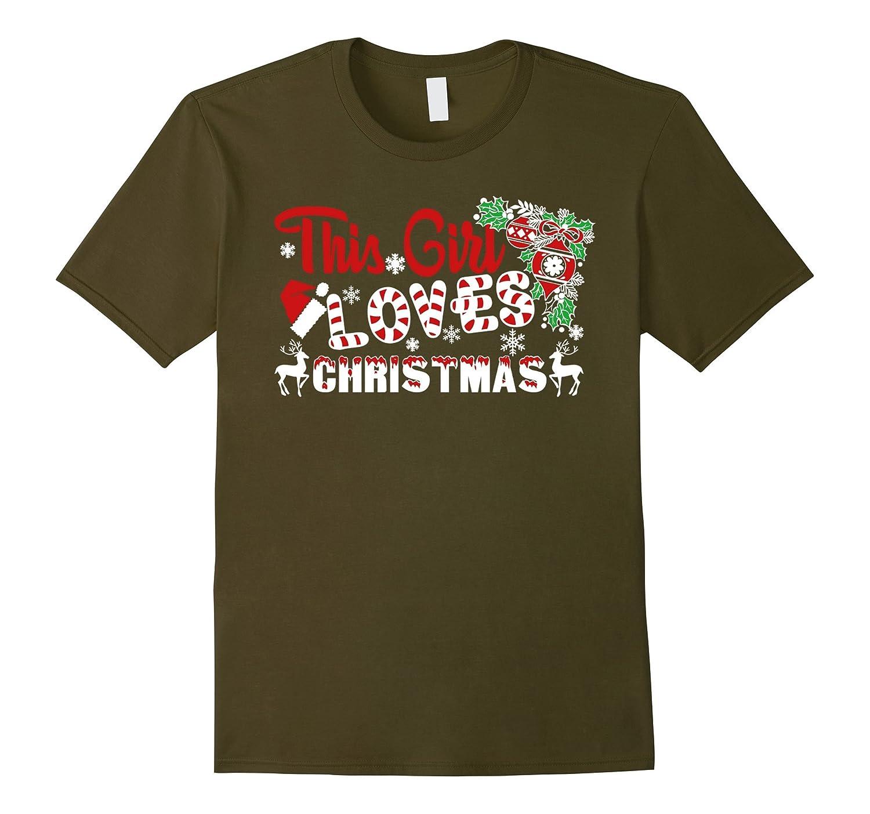 Christmas Vacation Shirt - This Girl Loves Christmas Shirt-RT
