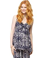 A Pea in the Pod Ruffle Front Maternity Cami