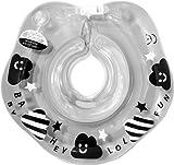 【180日保証】ベビーフロート 赤ちゃん お風呂 浮き輪 モノトーン 赤ちゃん用 スイマーバンド付き (Smile Cloud)