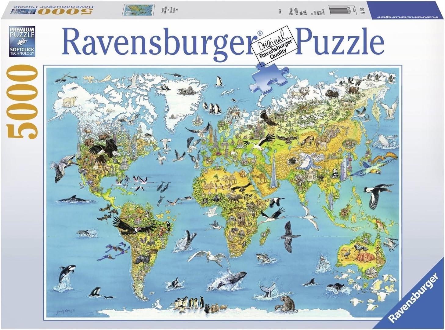 Ravensburger - Tierra Fascinante, Puzzle 5000 Piezas (17428 7): Amazon.es: Juguetes y juegos