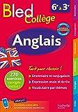 Bled Anglais Collège - Nouveau programme 2016
