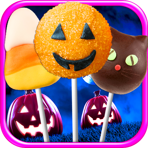 Cake Pops Halloween - Kids Dessert & Food Maker Games -