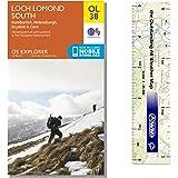 Map 347.Loch Lomond South Os Explorer Map 347 Amazon Co Uk Ordnance Survey
