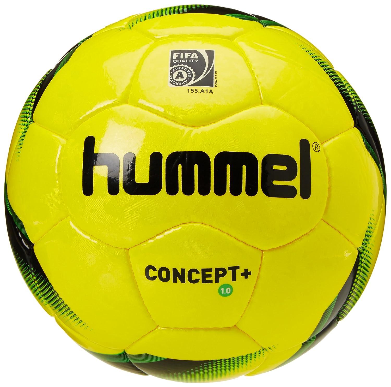 Hummel - Balón de fútbol Infantil 1,0 Concept Plus, Yellow/Black ...