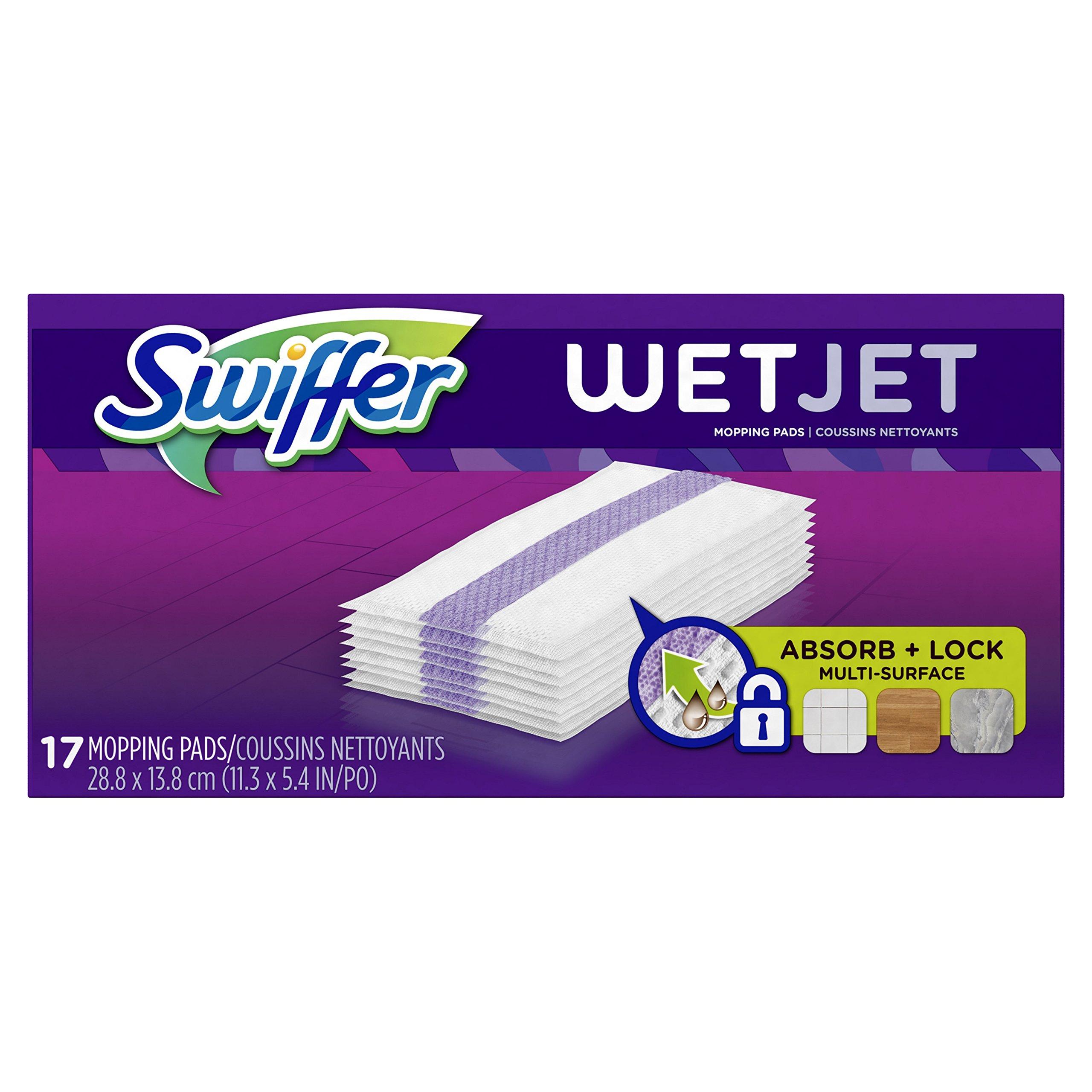 Swiffer wetjet wood floor cleaner - Swiffer Wetjet Hardwood Floor Wet Jet Mop Pad Refills Original Scent Refill 17
