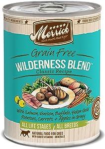 Merrick Classic Grain Free Wilderness Blend Wet Dog Food, 13.2 Oz, Case Of 12 Cans