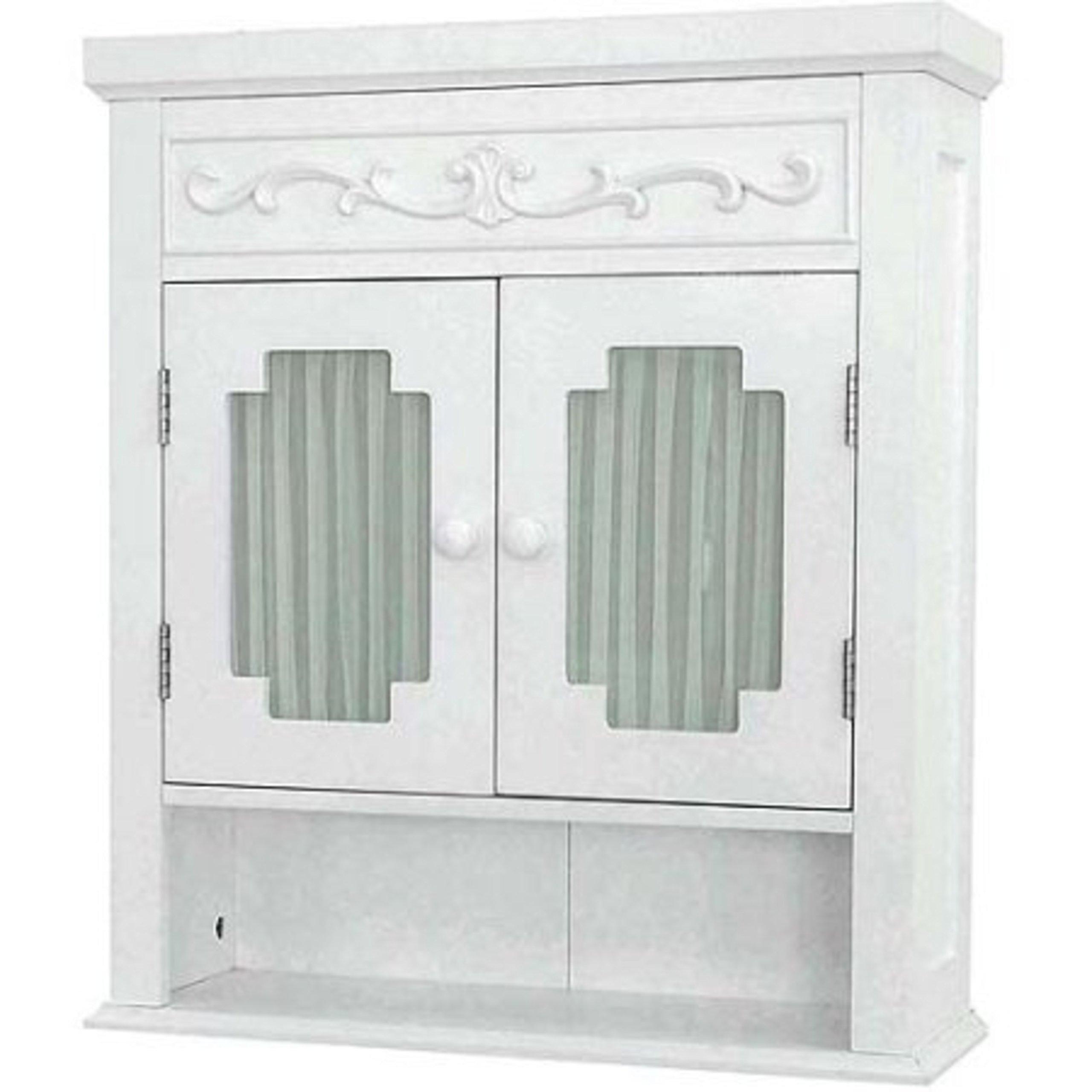 Lansing Wall Storage Cabinet, White