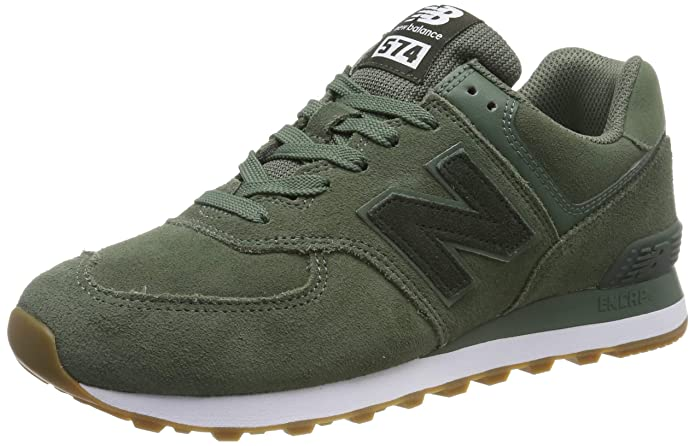 New Balance 574v2 Sneakers Herren Grün/Weiß