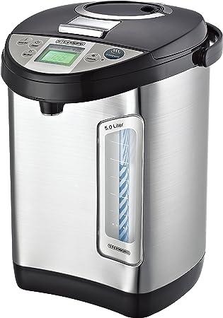 Potencia mopot 5 litros | Acero Inoxidable dispensador de agua caliente | 24 horas temporizador |
