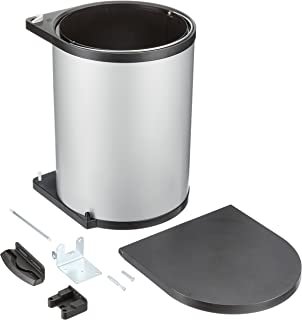 Hailo 371510 - Cubo de la basura (acero inoxidable, 15 L ...