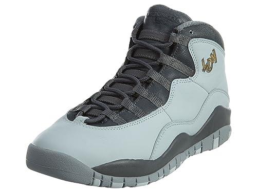Nike Pr Pltnm/Mtllc Gld-drk Gry-Cl, Zapatillas de Baloncesto para Niños: Amazon.es: Zapatos y complementos