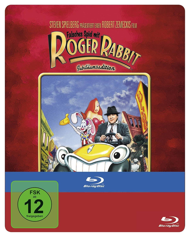 Falsches Spiel mit Roger Rabbit Jubiläumsedition Steelbook Blu-ray ...