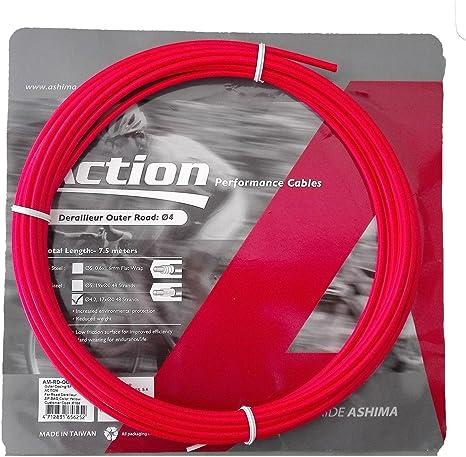 Funda para Cable de Cambio Profesional Color Rojo 7.5m ASHIMA ...