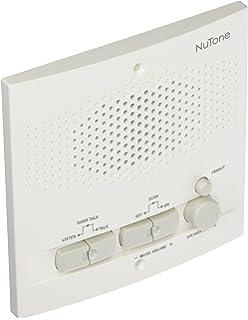 Nutone Outdoor Remote Station White Speaker Intercom 5 1/2IN
