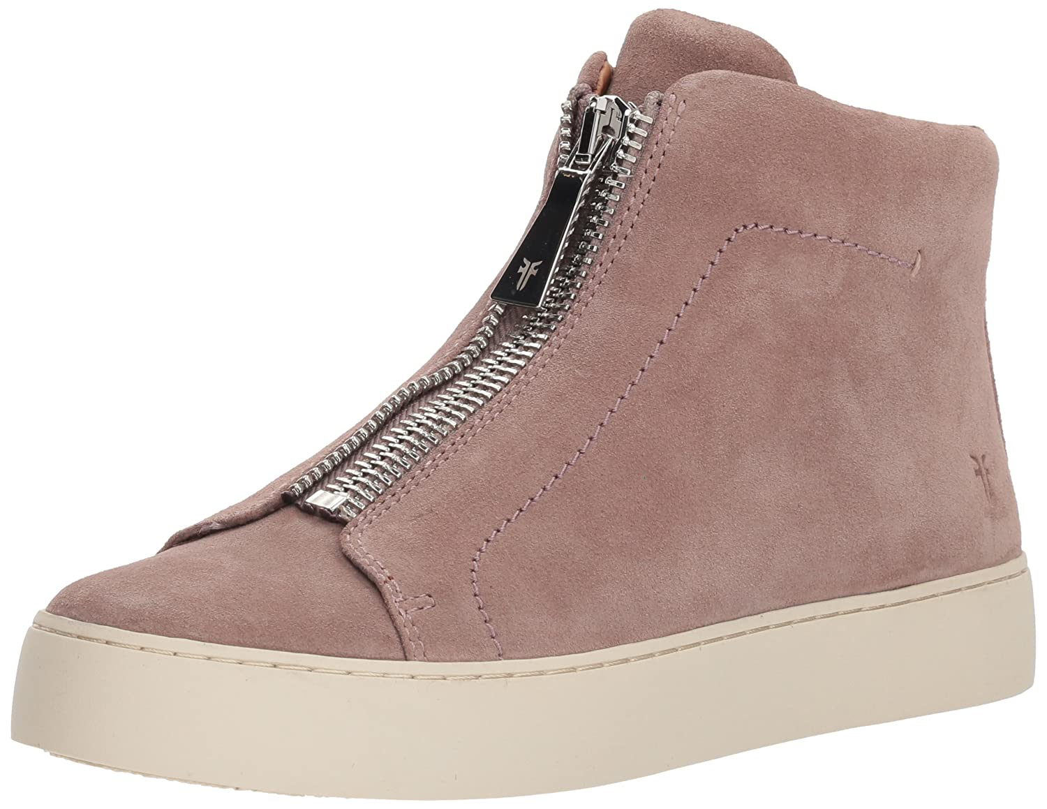 FRYE Women's Lena Zip High Fashion Sneaker B07215R33J 11 B(M) US|Dusty Rose