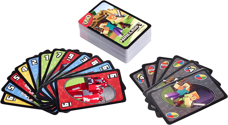 Amazon.com: UNO: Minecraft - Card Game: Toys & Games