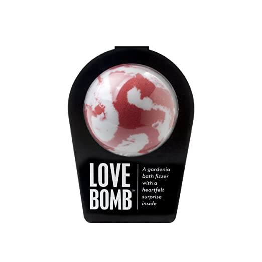 da Bomb Love bomb, Red/White, Gardenia