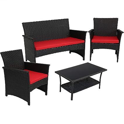Amazon.com: Sunnydaze Arklow - Muebles de ratán para ...