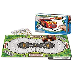 Doodle-Track Car Set Assorted Colors