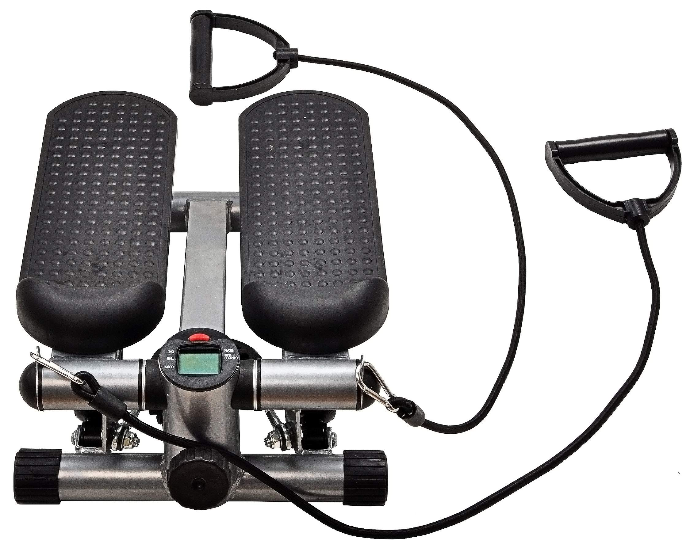 BalanceFrom Adjustable Stepper Stepping Machine with Resistance Bands by BalanceFrom