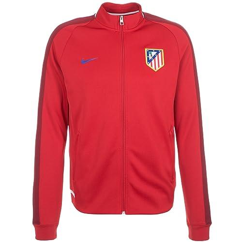 Nike - Sudadera de Hombre Atlético de Madrid 2015-2016: Amazon.es: Zapatos y complementos