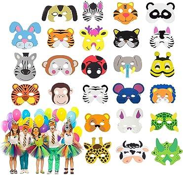 Maschera Di Scimmia EVA morbida schiuma per bambini Costume