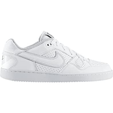 Nike Men s Son of Force Shoe White Black Size 8.5 ... a4527c21f