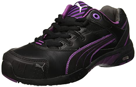 Puma 642880 234 36 Stepper Chaussures de Sécurité pour Femme WNS Low S2 HRO SRC Taille 36 NoirLilas
