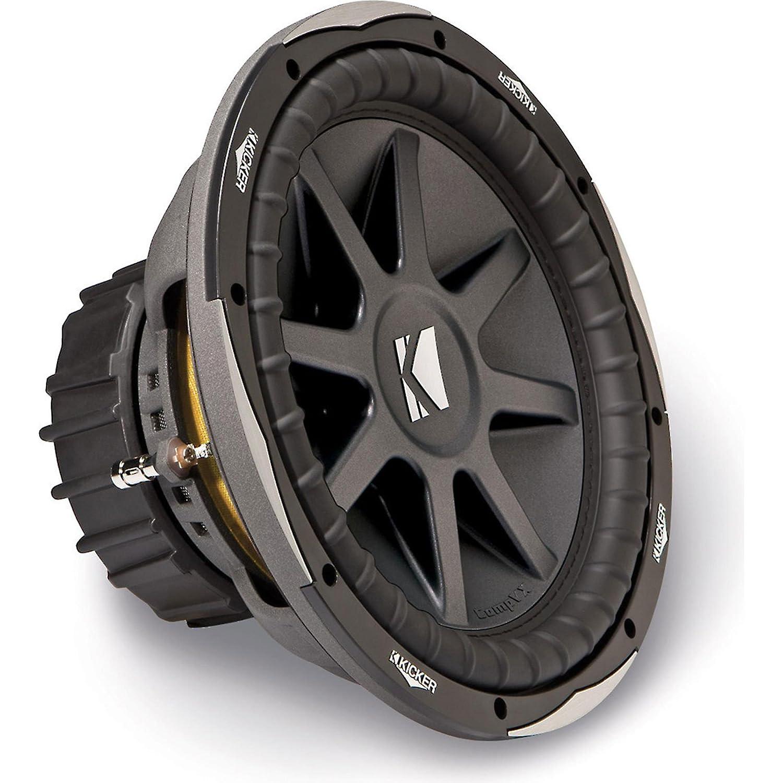 "Amazon.com: NEW KICKER CVX12 12"" 1500W 4-Ohm Comp VX Car Audio Subwoofer  Sub 10CXV124 CVX: Electronics"