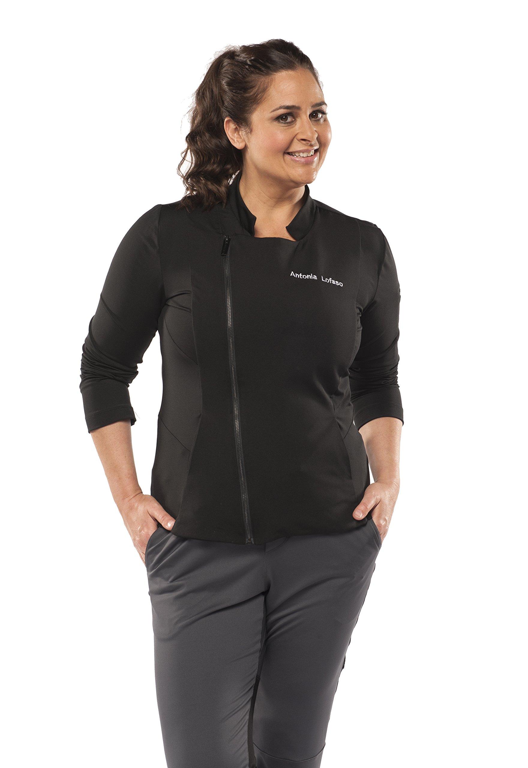 Chefletics ''Antonia'' Coat (X-Large, Black)