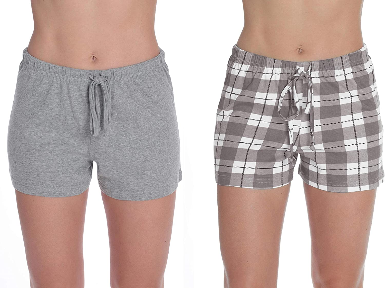 Just Love Womans Pajamas Shorts Sleepwear Pack of 2 PJs