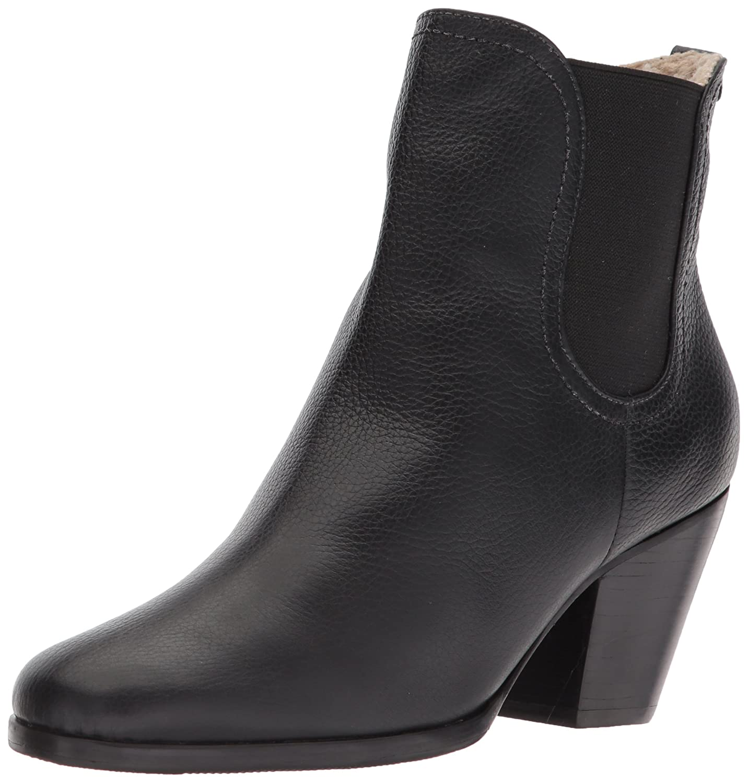 Rachel Comey Women's Nassau Ankle Boot B07776SWZP 8 B(M) US|Black Nappa/Shearling