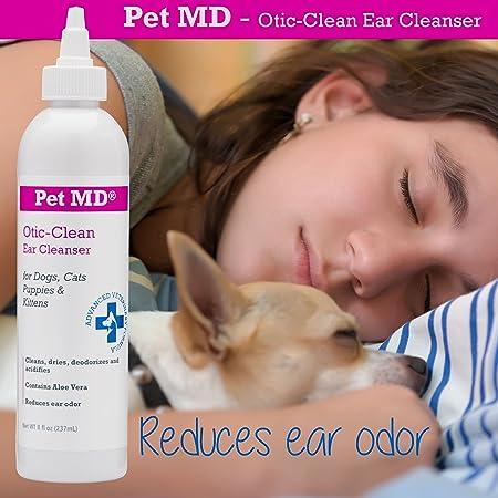 Amazon.com: Pet MD otic Clean Limpiador de oídos para gatos ...