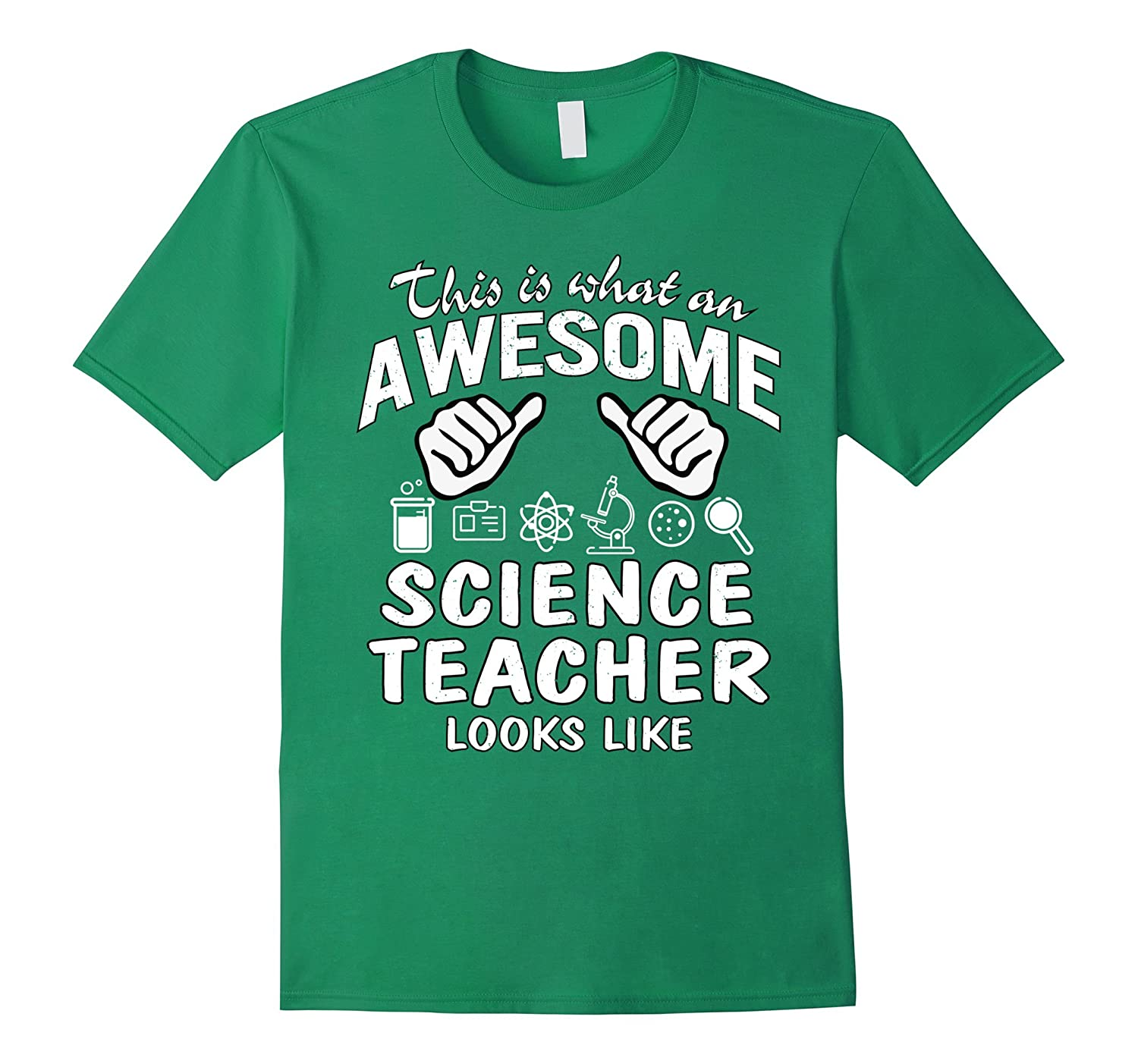Awesome Science Teacher Looks Like Funny T-Shirt Gift-TD