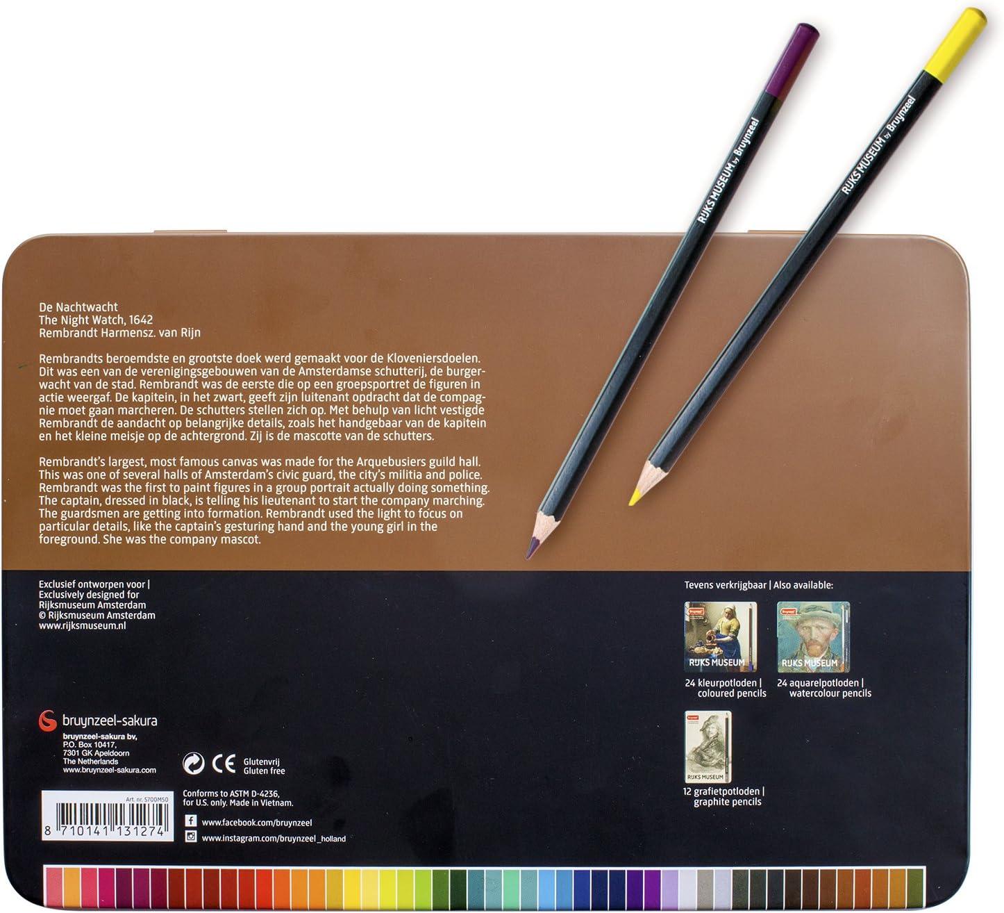 Bruynzeel Rijksmuseum Graphite Pencils Set of 12