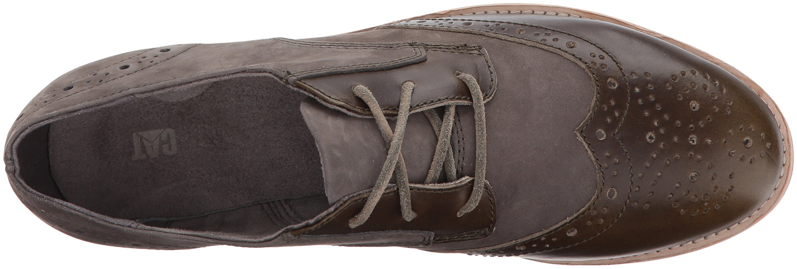 Caterpillar Women's Reegan II Lace up Leather Oxford, Olive, 5.5 Medium US by Caterpillar (Image #8)