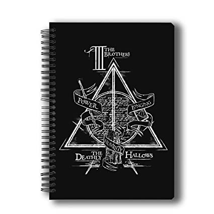 MC SID RAZZ Official Gift Harry Potter- Triangle Notebook | Birthday Gift/Return Gift/Anniversary Gift | Licensed By Warner Bros, USA