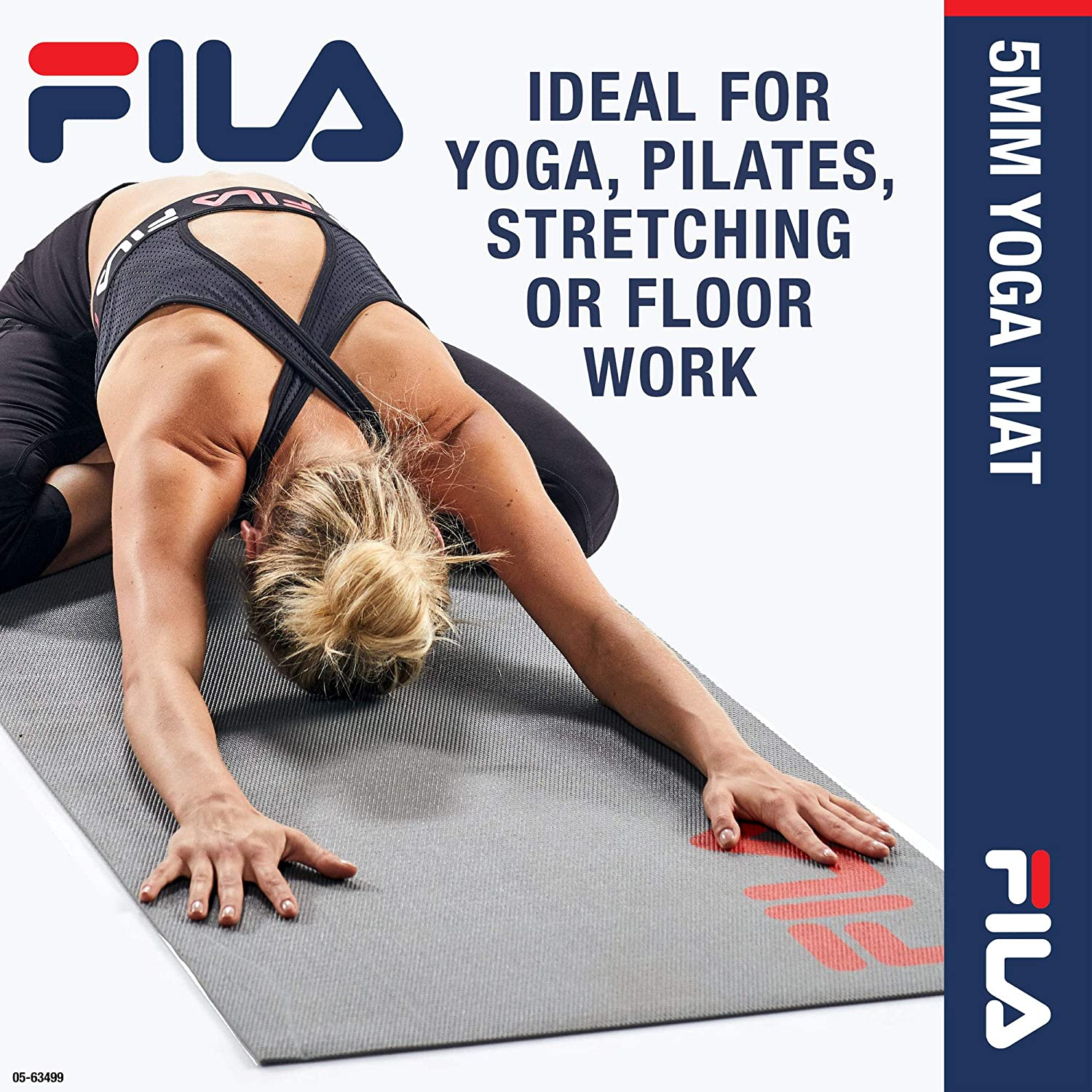 Amazon.com: Fila Accessories - Esterilla de yoga clásica con ...