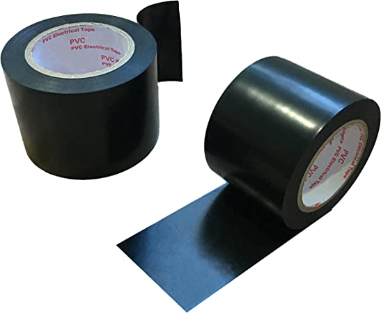 6 rouleaux de 19mm x 33m gris électrique pvc isolation ruban isolant